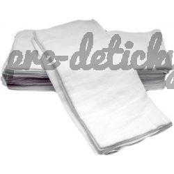 Bavlnené plienky biele