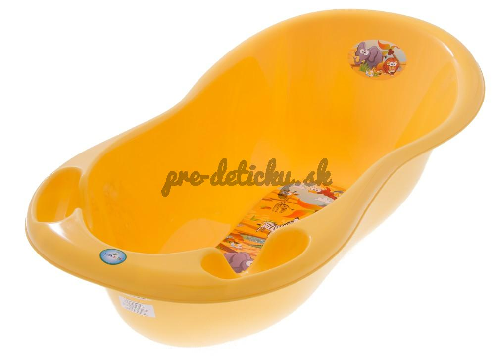 Vanička SAFARI 86 cm - TEGA BABY - žltá